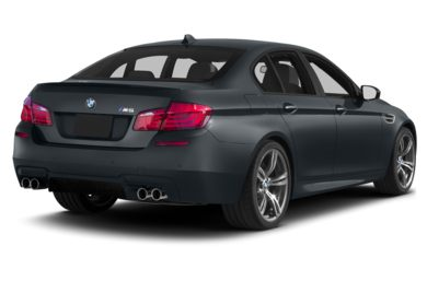 3/4 Rear Glamour  2013 BMW M5