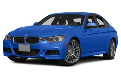 3/4 Front Glamour 2014 BMW 335