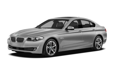 3/4 Front Glamour 2013 BMW ActiveHybrid 5