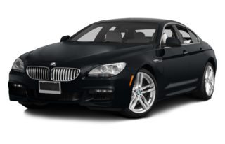 3/4 Front Glamour 2013 BMW 640 Gran Coupe