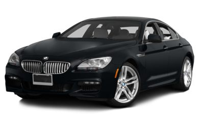 3/4 Front Glamour 2013 BMW 650 Gran Coupe