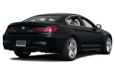 3/4 Rear Glamour  2013 BMW 640 Gran Coupe