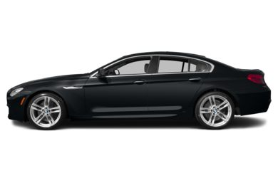90 Degree Profile 2013 BMW 640 Gran Coupe