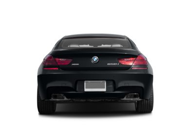Rear Profile  2013 BMW 640 Gran Coupe