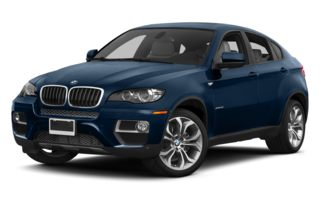 3/4 Front Glamour 2013 BMW X6