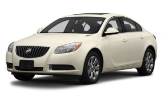 3/4 Front Glamour 2013 Buick Regal