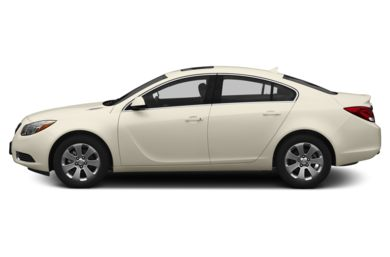 90 Degree Profile 2013 Buick Regal