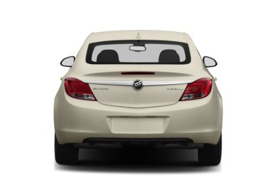 Rear Profile  2013 Buick Regal