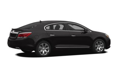 3/4 Rear Glamour  2013 Buick LaCrosse