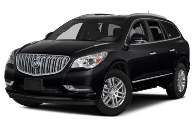 3/4 Front Glamour 2013 Buick Enclave