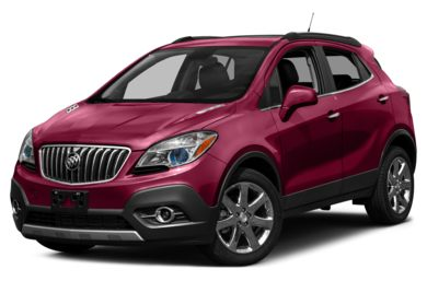 3/4 Front Glamour 2013 Buick Encore