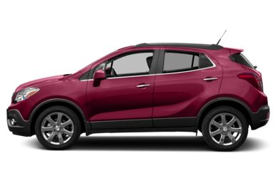 90 Degree Profile 2014 Buick Encore
