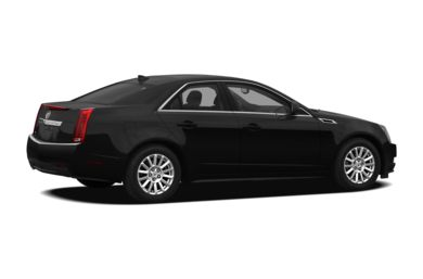 3/4 Rear Glamour  2013 Cadillac CTS