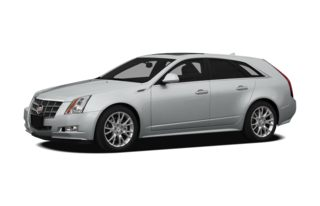 3/4 Front Glamour 2013 Cadillac CTS