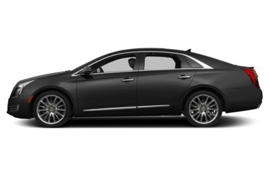 90 Degree Profile 2013 Cadillac XTS