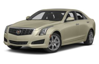 3/4 Front Glamour 2013 Cadillac ATS