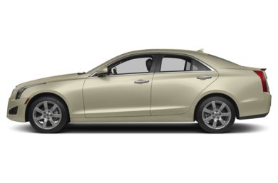 90 Degree Profile 2013 Cadillac ATS