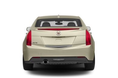 Rear Profile  2013 Cadillac ATS