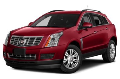 3/4 Front Glamour 2013 Cadillac SRX