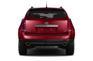 Rear Profile  2013 Cadillac SRX