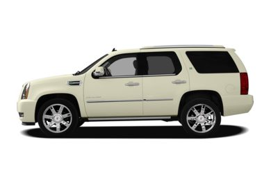 90 Degree Profile 2013 Cadillac Escalade Hybrid