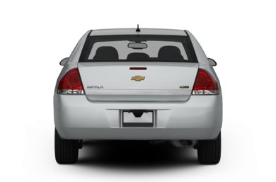 Rear Profile  2013 Chevrolet Impala