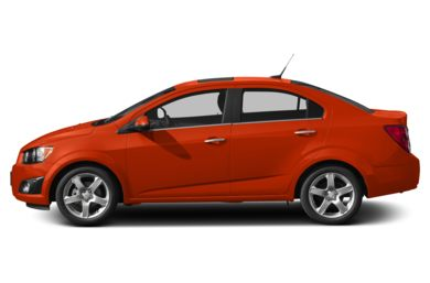 90 Degree Profile 2013 Chevrolet Sonic