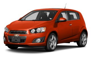 3/4 Front Glamour 2013 Chevrolet Sonic