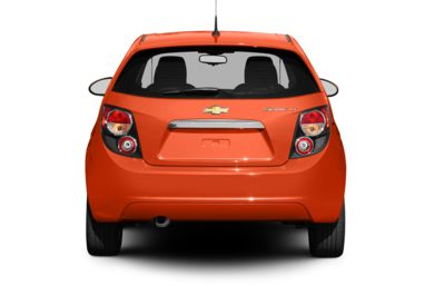 Rear Profile  2013 Chevrolet Sonic