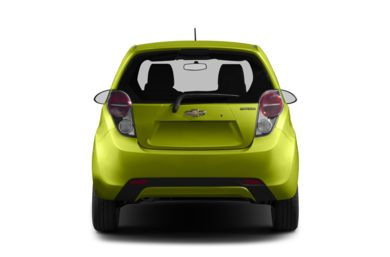 Rear Profile  2013 Chevrolet Spark