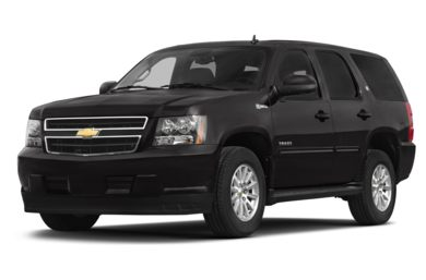 3/4 Front Glamour 2013 Chevrolet Tahoe Hybrid