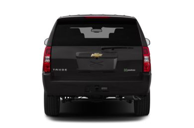 Rear Profile  2013 Chevrolet Tahoe Hybrid