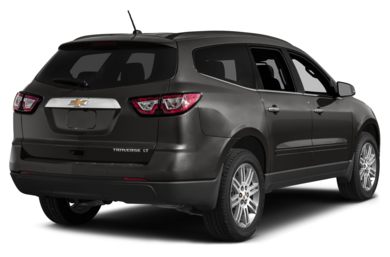 3/4 Rear Glamour  2014 Chevrolet Traverse