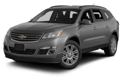 3/4 Front Glamour 2013 Chevrolet Traverse