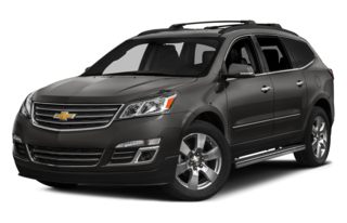 3/4 Front Glamour 2014 Chevrolet Traverse