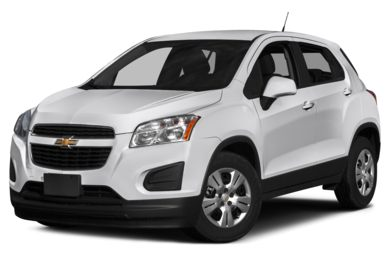 3/4 Front Glamour 2016 Chevrolet Trax