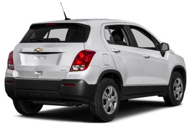 3/4 Rear Glamour  2016 Chevrolet Trax