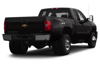 3/4 Rear Glamour  2013 Chevrolet Silverado 3500HD