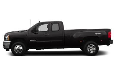 90 Degree Profile 2013 Chevrolet Silverado 3500HD