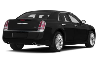 3/4 Rear Glamour  2013 Chrysler 300