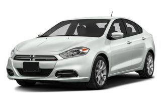 3/4 Front Glamour 2013 Dodge Dart
