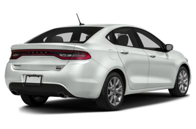 3/4 Rear Glamour  2013 Dodge Dart