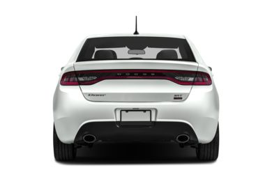 Rear Profile  2013 Dodge Dart