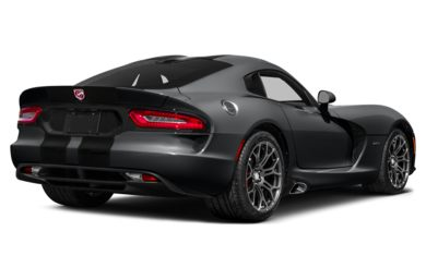3/4 Rear Glamour  2013 Dodge SRT Viper