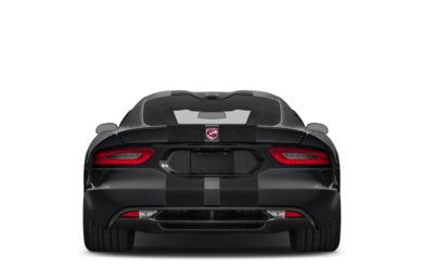 Rear Profile  2013 Dodge SRT Viper