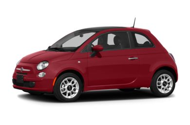 3/4 Front Glamour 2013 FIAT 500