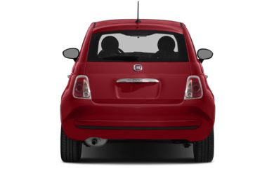 Rear Profile  2013 FIAT 500