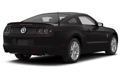 3/4 Rear Glamour  2013 Ford Mustang