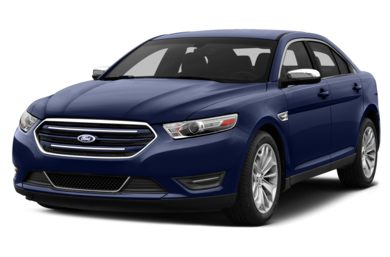 3/4 Front Glamour 2013 Ford Taurus
