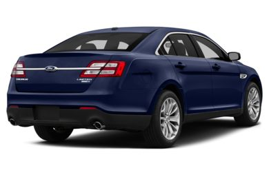 3/4 Rear Glamour  2013 Ford Taurus